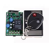 Одно-канальный универсальный дистанционный выключатель на 220 В 30А с регулируемым таймером от 3сек. до 10мин.