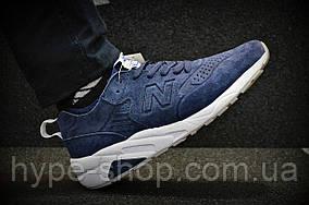 Мужские синие кроссовки New Balance 580 | Люкс Реплика
