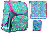 Набор 1 вересня Smart для девочки рюкзак 554474, пенал 531695, сумка 555228