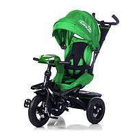 Детский трехколесный велосипед TILLY Cayman T-381 (Зеленый)