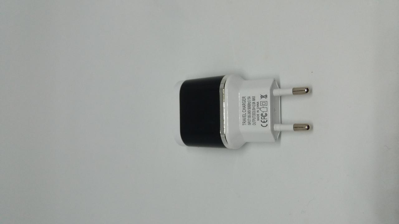 Адаптер 2U (5V 2A max) Блистер, фото 1