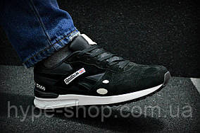 Мужские черные кроссовки Reebok GL 12000   Люкс Реплика