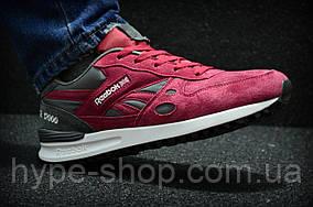 Мужские красные кроссовки Reebok GL 12000   Люкс Реплика