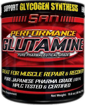 Глютамин SAN Performance Glutamine 300 г, фото 2