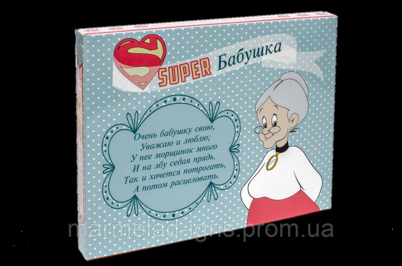 Шоколадный набор  для бабушки на украинском языке