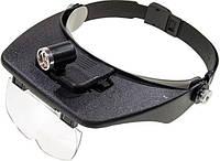 Бинокулярные очки MG81001 с LED подсветкой, увеличение:1,2Х 1,8Х 2,5Х 3,5Х