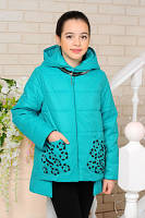 Демисезонная куртка для девочек, фото 1