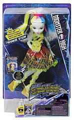 Свет! ЗВУК! Кукла Monster HighFrankie Stein Electrified High VoltageФренки Штейн Наэлектризованные