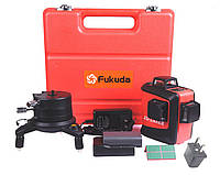 Лазерный уровень 3D Fukuda (максимальная комплектация) с аккумулятором