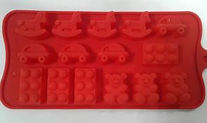Форма силіконова для цукерок іграшки