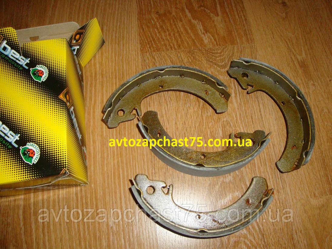 Колодки тормозные Ваз 2108, 2109, 21099, 2113, 2114, 2115 задние (производитель Best, Днепр, Украина)