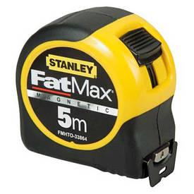 """Рулетка STANLEY """"Fatmax Blade Armor"""" магнітна, L=8м, B=32мм."""