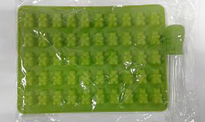 Форма силиконовая мишки 50 шт с (пипеткой )