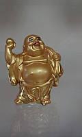 Хоттей с жемчужиной и мешком богатства Статуэтка Под золото