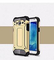 Чехол Guard для Samsung J5 2015 / J500H / J500 / J500F бампер бронированный Immortal Gold