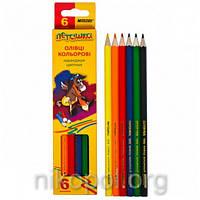 Набор цветных карандашей MARCO Пегашка 1010-6CB, 6 цветов