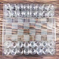 Набор стеклянные шахматы с рюмками