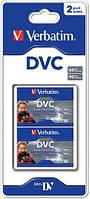 Видеокассета Verbatim MiniDV 2PK BLISTER 60MIN 47653