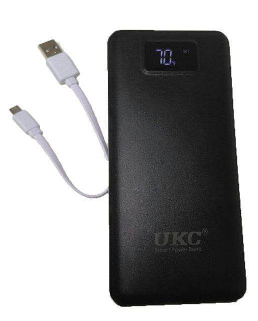 УМБ портативная зарядка Power Bank UKC K8 99000 mAh LCD