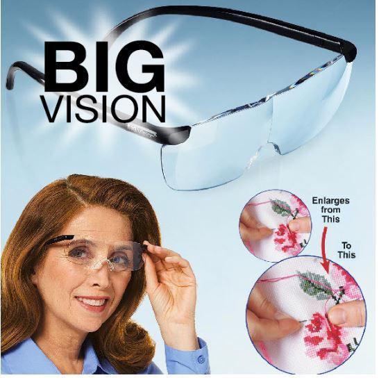 Увеличительные очки Big Vision (очки-лупа)