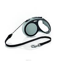 Поводок-рулетка Flexi NEW COMFORT Mini (Флекси Нью Комфорт Мини) Cord ХS трос 3м для собак до 8 кг (цвет в ассортименте)