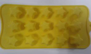 Форма силиконовая звездочка для конфет