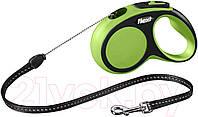 Поводок-рулетка Flexi NEW COMFORT (Флекси Нью Комфорт) Cord ХS трос 3м для собак до 8 кг (цвет в ассортименте)