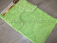 """Набор ковриков """"Макароны"""" для ванной и туалета 2 предмета  80*50 см и 40*50 см"""