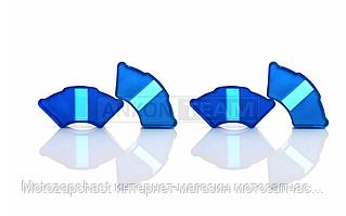 Демпферные резинки Дельта силикон VLAND синие