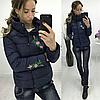 Женская короткая куртка на весну