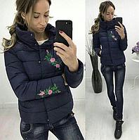 Женская короткая куртка на весну, фото 1