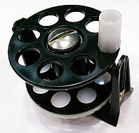 Катушка для подводного ружья Pelengas; пластиковая; белая