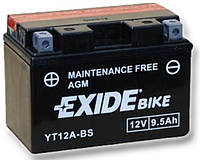 Мото аккумулятор Exide ET12A-BS = YT12A-BS