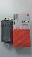 """Фильтр топливный на VW Transporter T3/T4 1.9-2.5, LT 28-45 2.4TD """"KNECHT"""" KL 75 ― производства Австрия"""