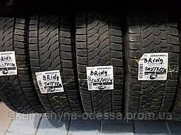 Шины зимние б/у 205/75 R16C Bridgestone пара протектор 5+мм, 2016год