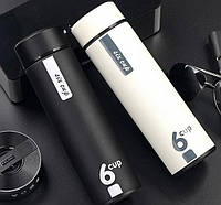 Дизайнерский термос 6 CUP 500 мл, фото 2