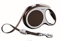 Поводок-рулетка Flexi NEW COMFORT (Флекси Нью Комфорт) Tape S лента 5 м для собак до 15 кг (цвет в ассортименте)