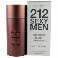 Мужской Парфюм Carolina Herrera 212 Sexy Men TESTER 100 ml Код:119673