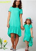 Женское платье мама и дочка