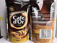 Кофе растворимый Cafe d'Or Gold,пакет, 200 гр