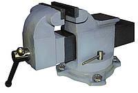 Тиски слесарные поворотные 200 мм с наковальней