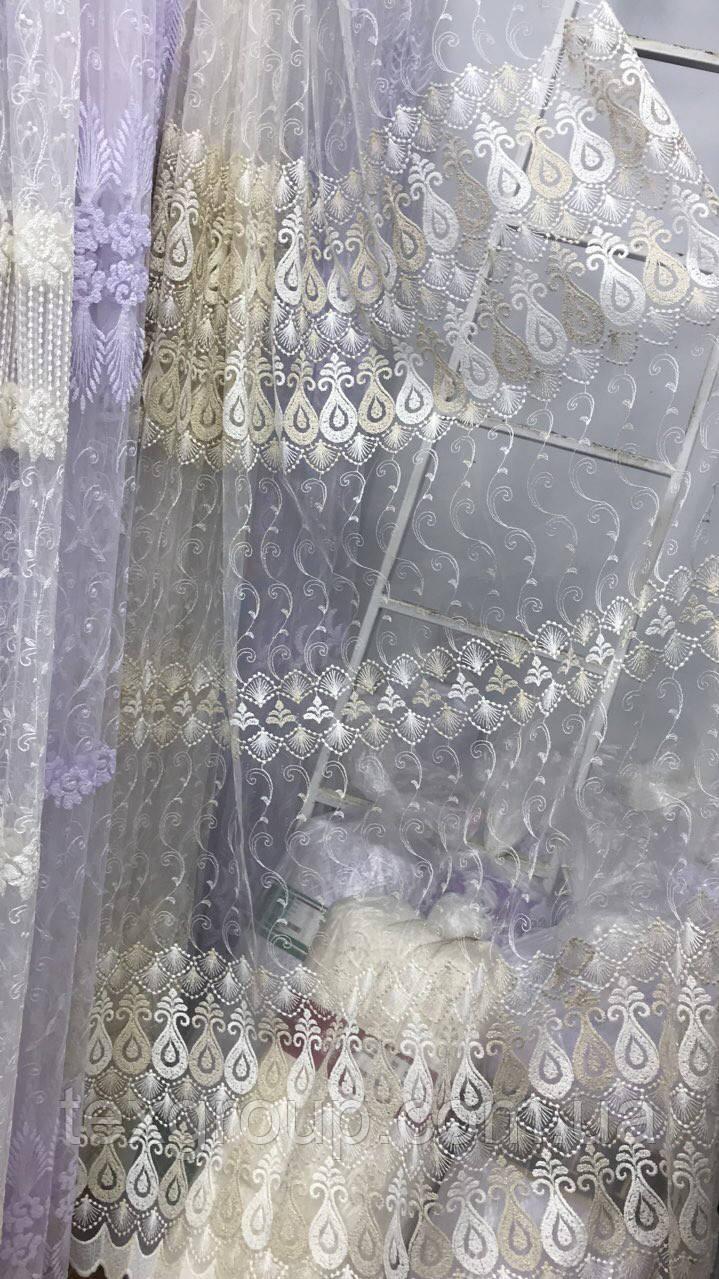 Тюль фатиновый Кувшинка YON-20