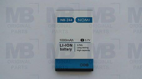 Аккумулятор  (АКБ, батарея) Nomi i244 (NB-244), оригинал!, фото 2