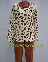 Красивая махровая женская пижама