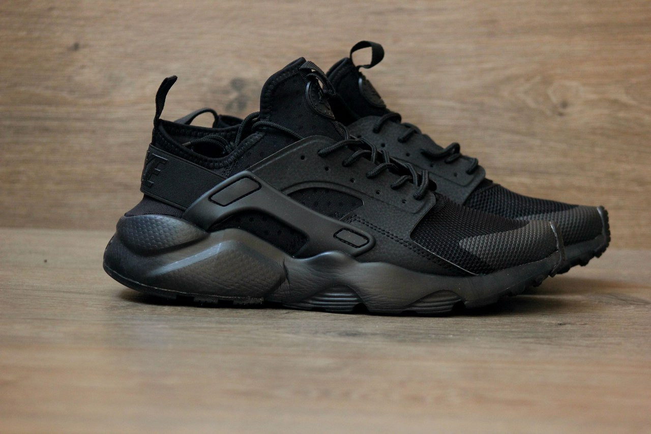 d3b235ae45ee Кроссовки Nike Air Huarache Ultra Black. Живое фото. Топ качество! (Реплика  ААА