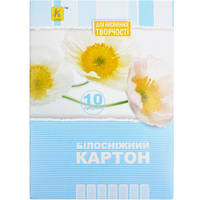 БЕЛЫЙ КАРТОН А5 10 ЛИСТОВ «КОЛЕНКОР» BKN10А5