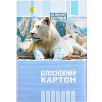 БЕЛЫЙ КАРТОН А4 7 ЛИСТОВ «КОЛЕНКОР» А4-7