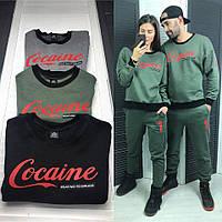 Женский модный стильный повседневный костюм Cocaine разные цвета DLd752