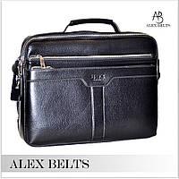 Мужской портфель (кожзам) 25x30 см-купить оптом в Одессе