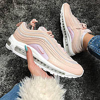 Кроссовки Nike Air Max 97 Pink/white. Топ качество! Живое фото (Реплика ААА+)